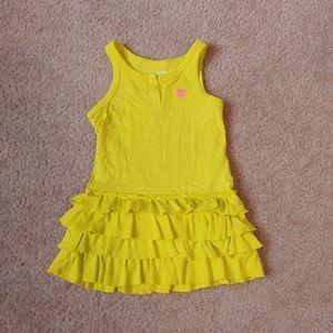 Carter's 3t Girls ruffle bottom dress